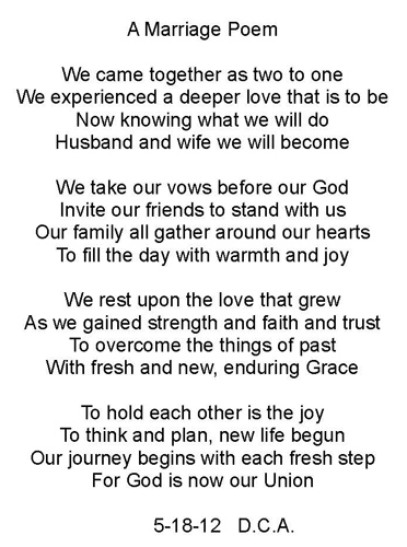 poems about love and marriage how to get a guy to fall